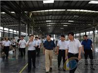 河南省副省长张维宁莅临兰迪机器调研