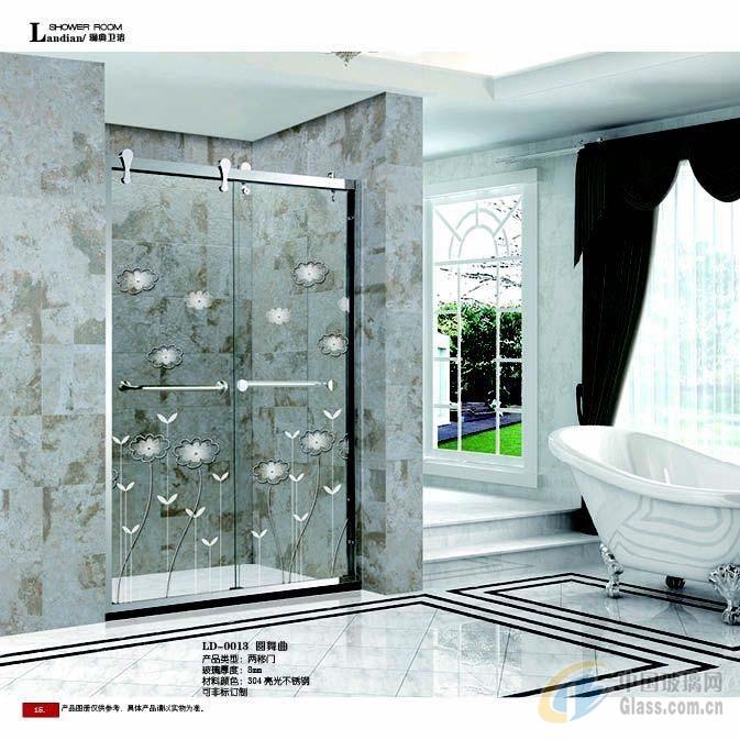 澜典淋浴房玻璃可批发