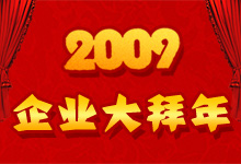 2009玻璃企业大年夜拜年