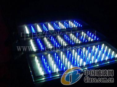 供应电梯发光玻璃