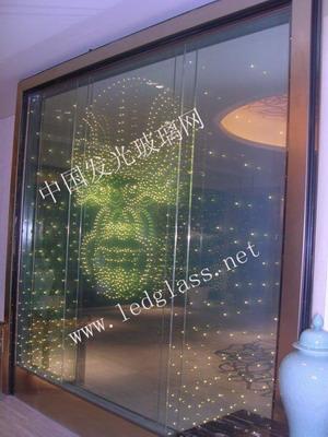 LED玻璃  发光玻璃
