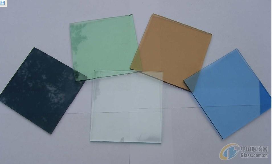 供应各种颜色玻璃 彩色玻璃原片 有色玻璃 茶色 绿色