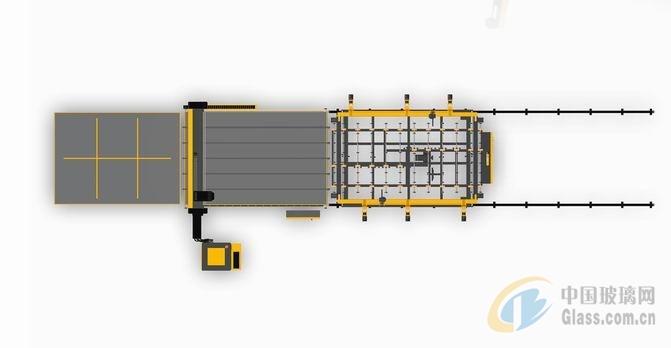 EG-CM4228玻璃切割机(双边双工位)
