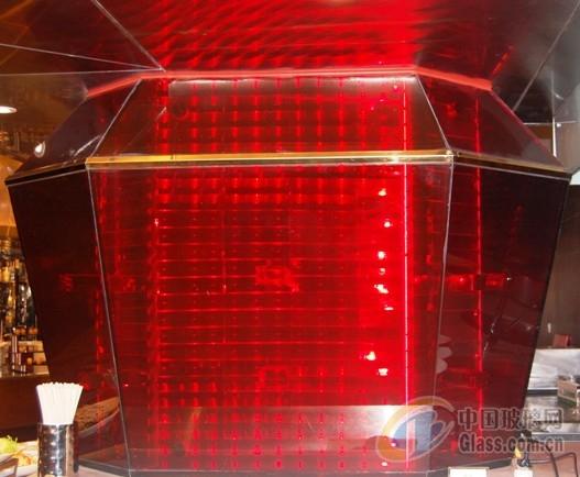 艺术水晶造型——水晶柱子
