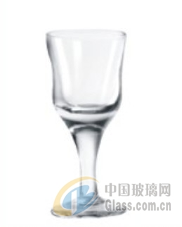 新款人工带杆小酒杯 玻璃杯