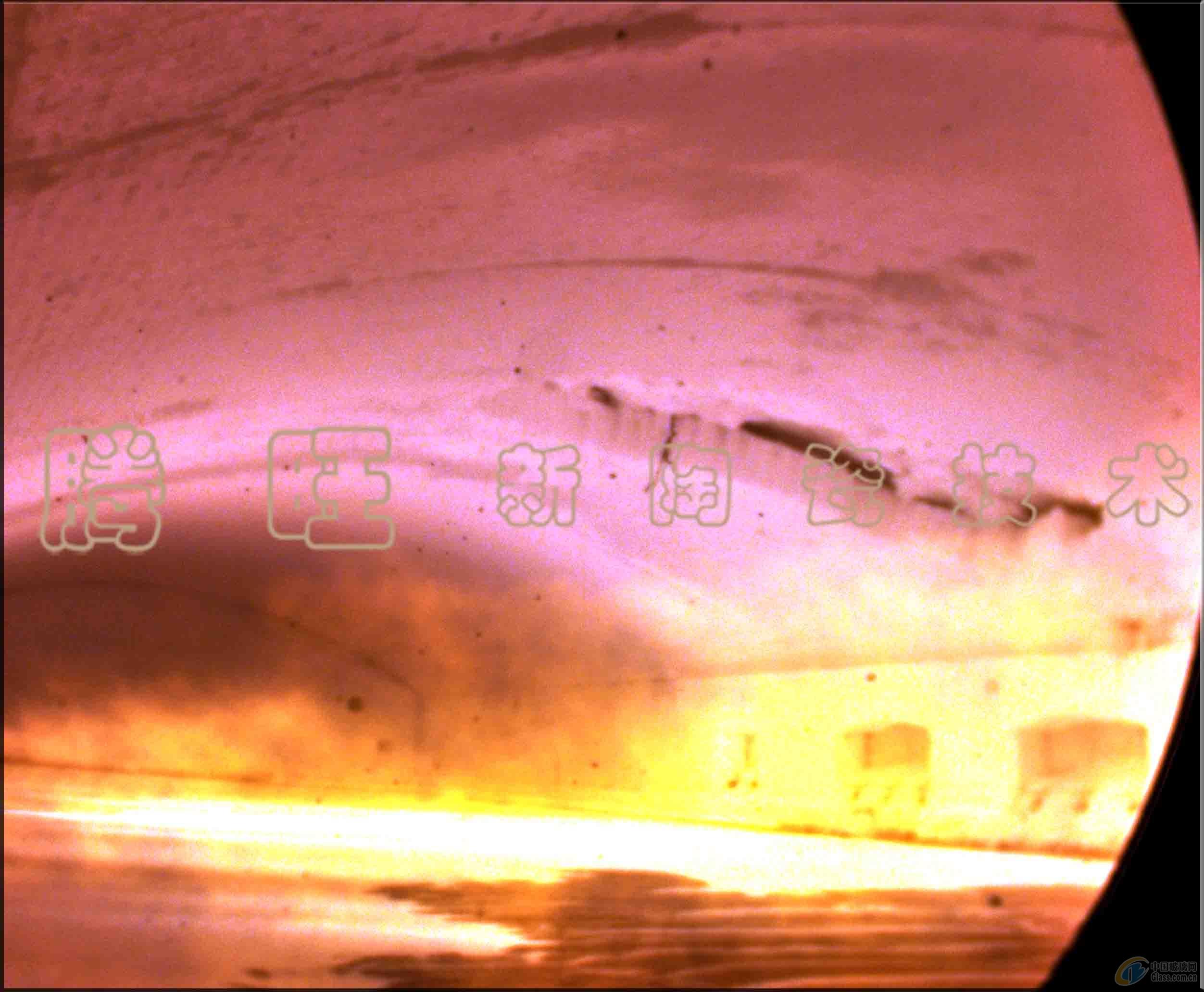 玻璃窑炉在线潜望镜检查维护