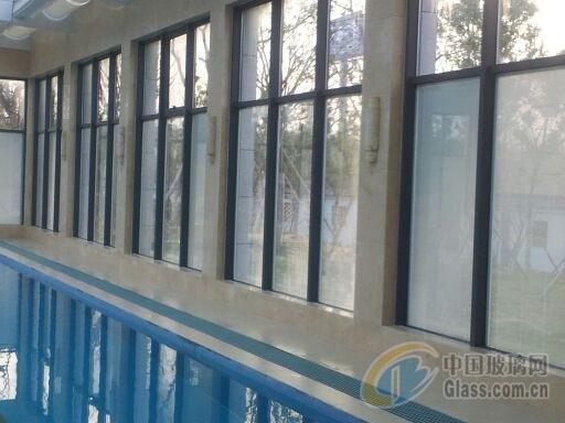 苏州玻璃隔断铝型材,升降百叶隔断