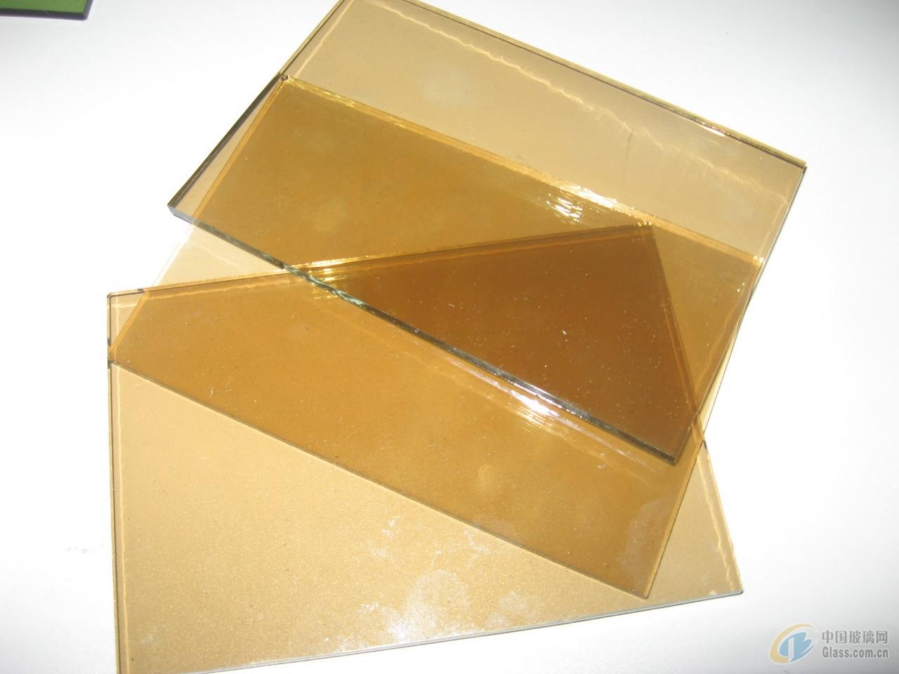 供应3-12毫米茶色玻璃 茶色镀膜玻璃