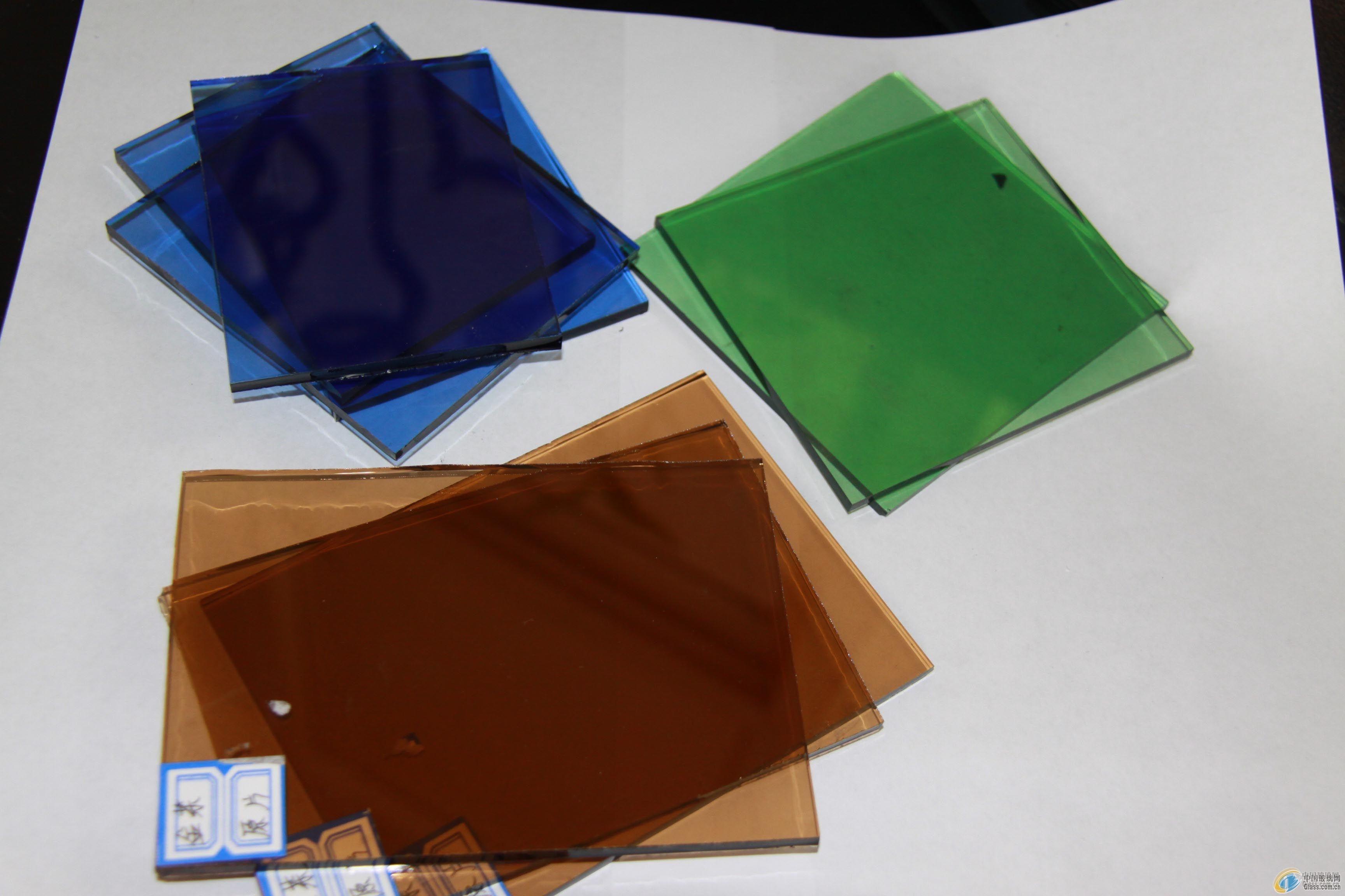 各种颜色玻璃原片