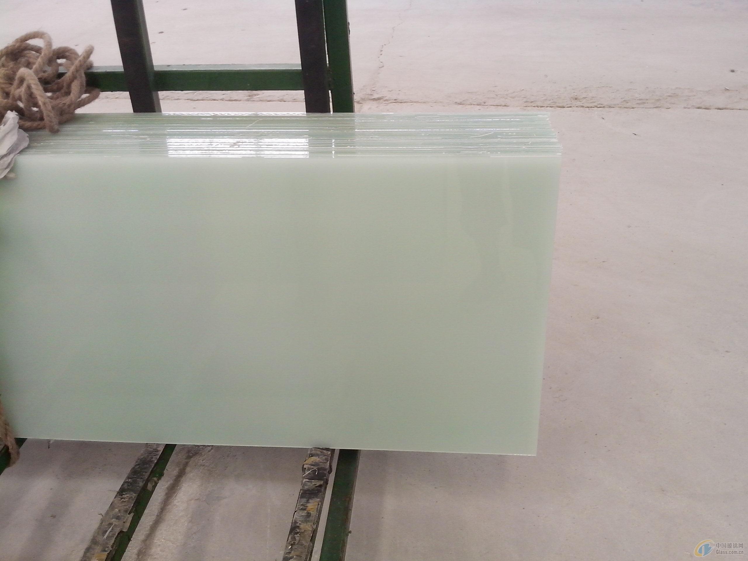 供应乳白夹胶玻璃