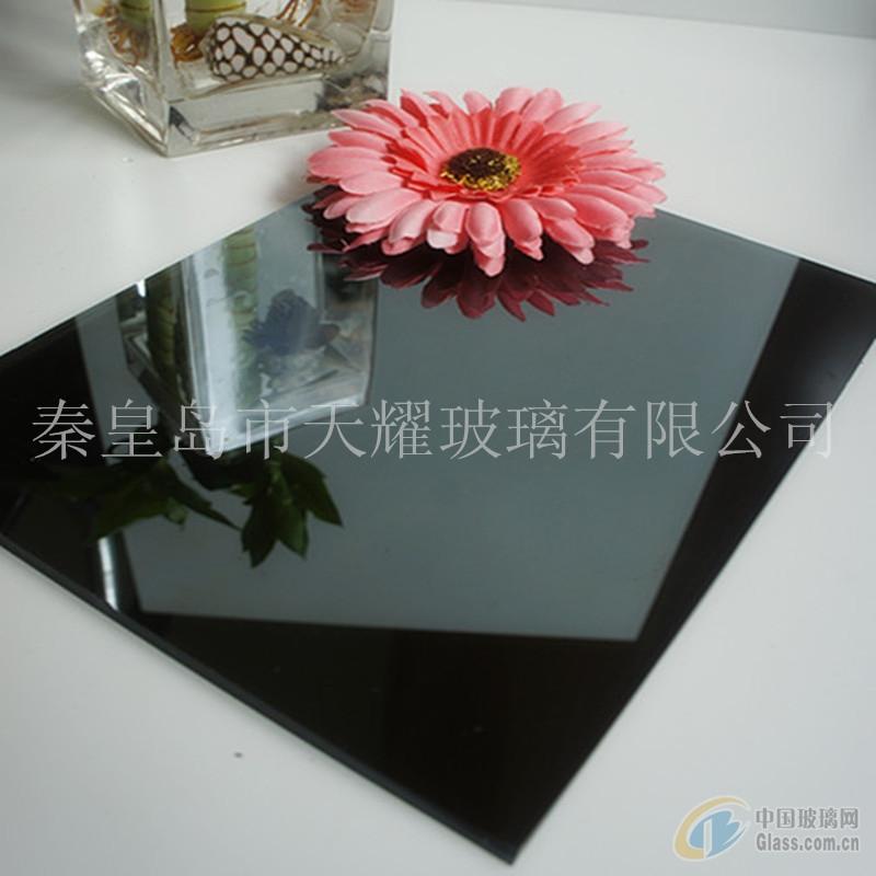 供应6mm深灰镀膜玻璃