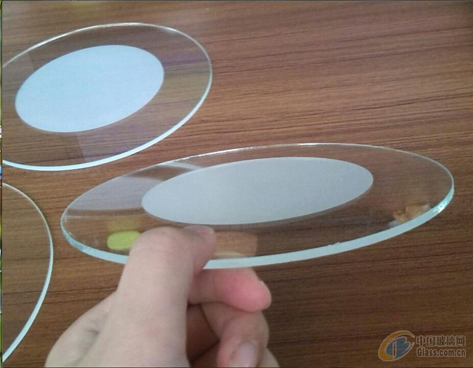 可生产埋地灯圆形玻璃,路灯玻璃