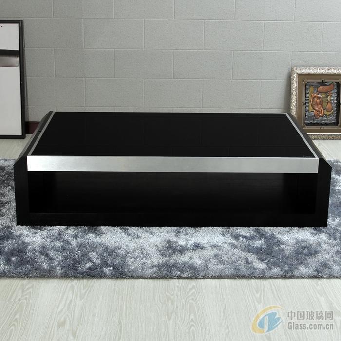 供应4-12mm的家具黑色玻璃