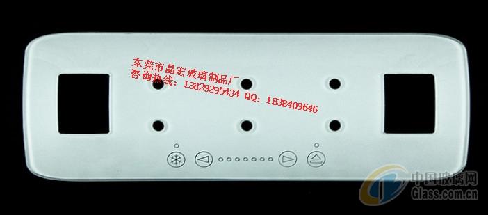供应长方形音箱钢化玻璃面板
