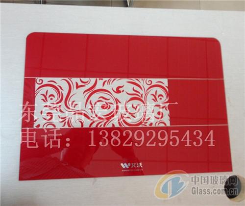 热水器钢化玻璃面板丝印定制批发