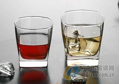 广州供应方形玻璃水杯