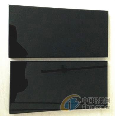 供应3.2-6mm黑色家电玻璃