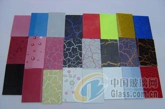 饰品钢化玻璃油墨