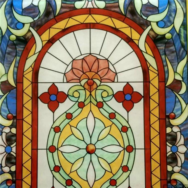 数码彩釉教堂玻璃