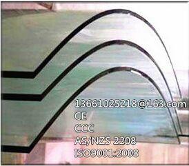 供应兰州弯钢玻璃6mm