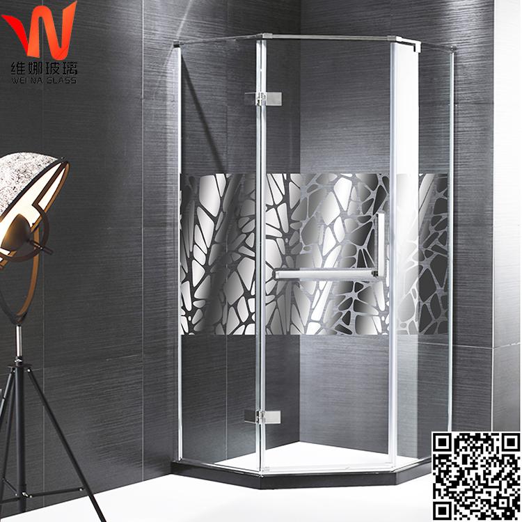 供应沐浴房离子镀晶玻璃