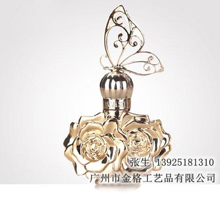 30ml烫金烫银女士玻璃香水瓶