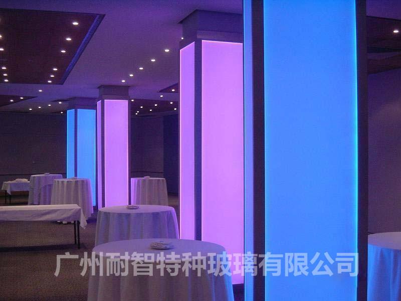 彩色导光玻璃智能光电玻璃