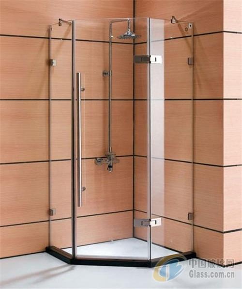 淋浴房玻璃在进灿有供应