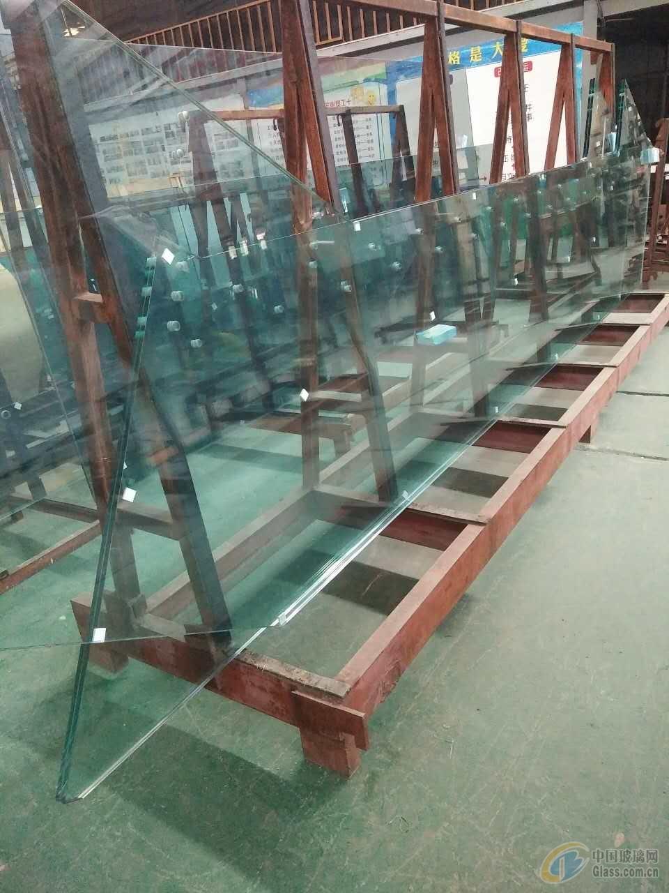 19+19超白PVB夹胶玻璃