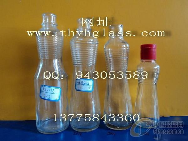 玻璃瓶厂家,供应玻璃麻油瓶