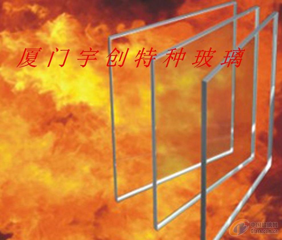 单片铯钾防火玻璃单片高规格