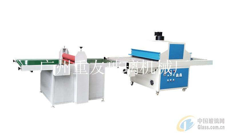 瓷砖压膜UV热固化机