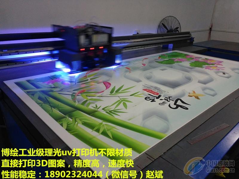 uv平板打印机结合雕刻再上色工艺