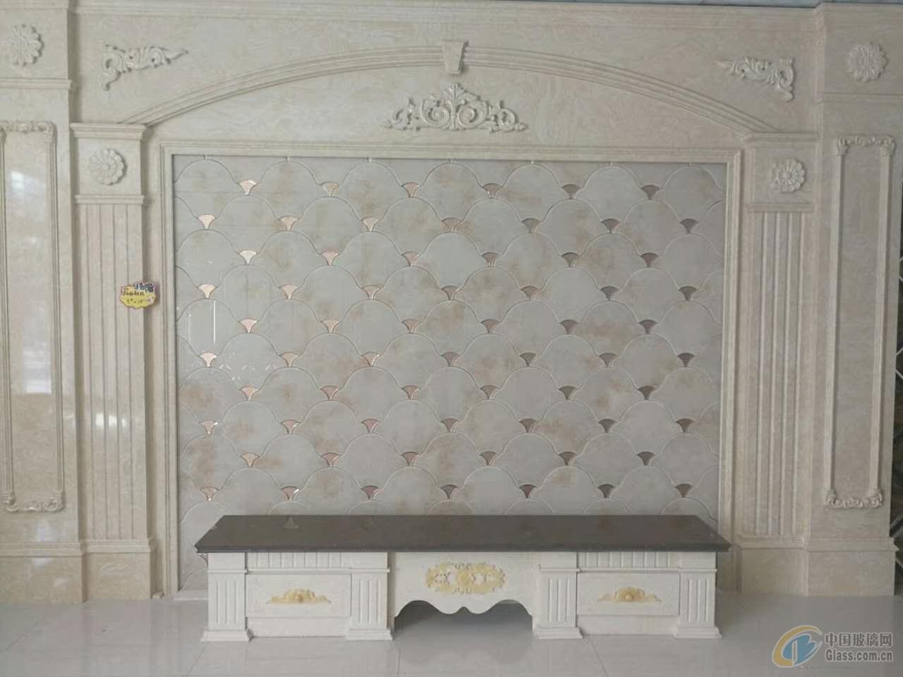 河北供应罗马柱 拼镜背景墙 软包