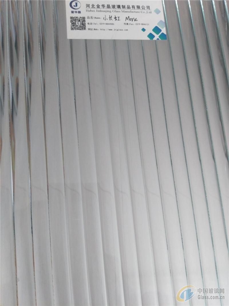 钢化级小长虹压花玻璃