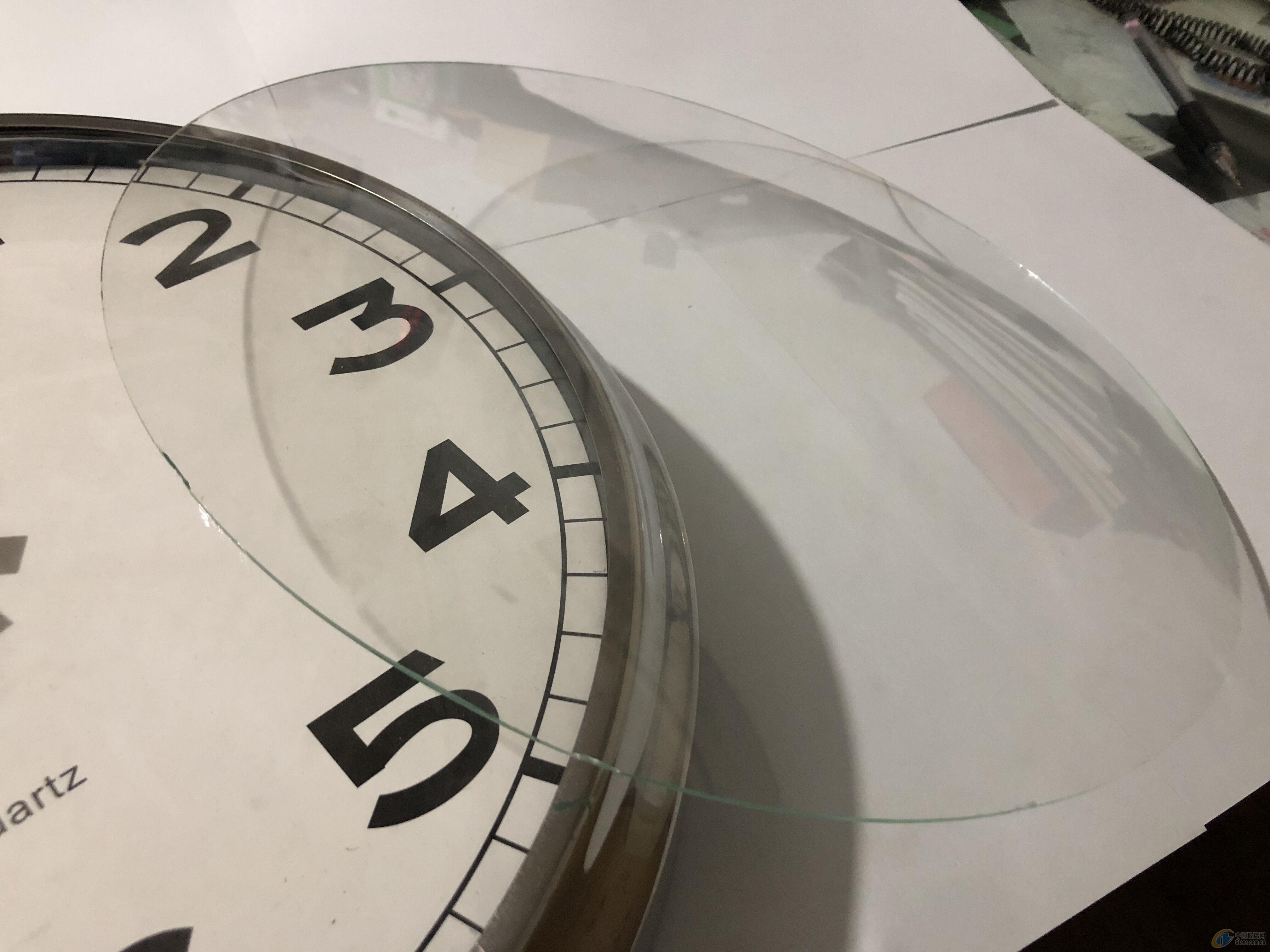 供应仪器仪表钟表弯钢化玻璃