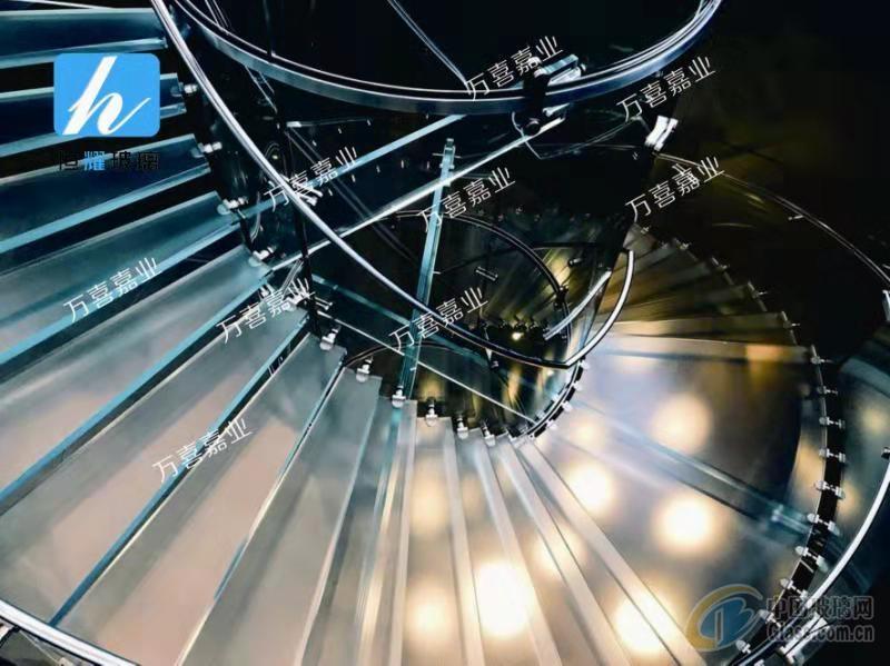 台阶玻璃/踏步玻璃/楼梯玻璃