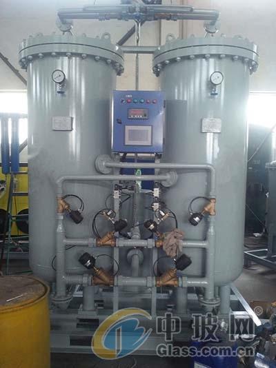 冶炼玻璃防止氧化制氮机装置