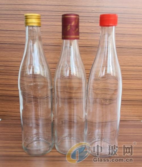 玻璃瓶厂家供应高白料玻璃白酒瓶牛二白酒瓶