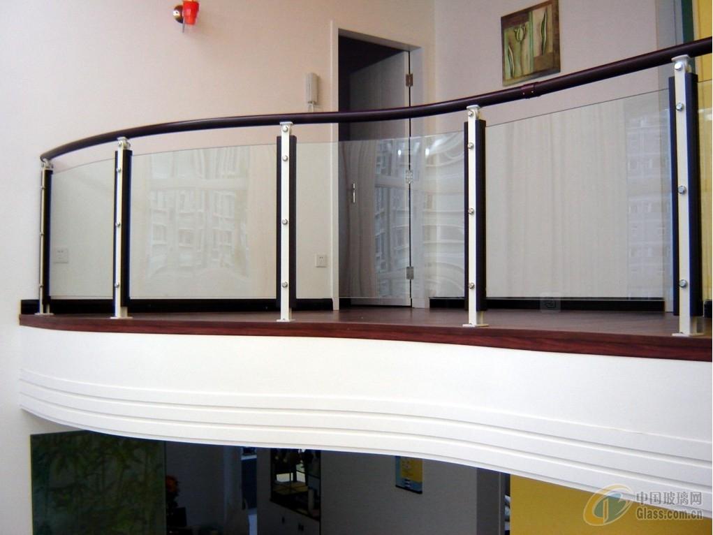 不锈钢玻璃围栏13
