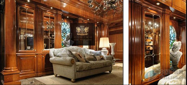 实木护墙板图片-玻璃图库-中国玻璃网