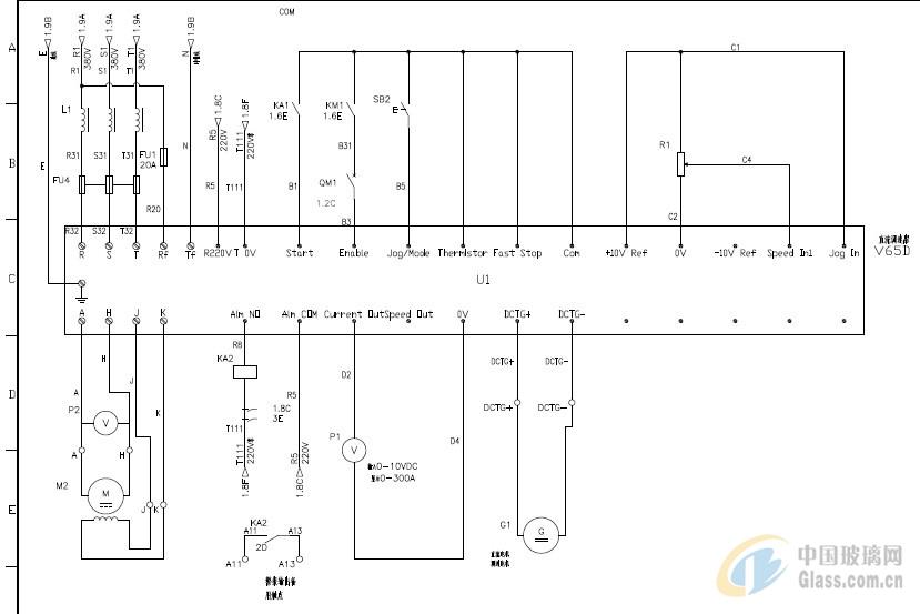 图片简介: 台湾运泰V65D全数字数位直流调速器分为二象限(2Q DCD2)和4象限(4Q DCD4),分别实现了不可逆和可逆模式下控制马达。通过欧洲CE国际认证. 优点: 1.双处理器,检测和运算信号分由2个芯片计算,不受干扰. 2.通讯功能强,有485通讯功能,通讯卡内置。 3.PG反馈卡内置.有密码保护,不易改动可以扩容.