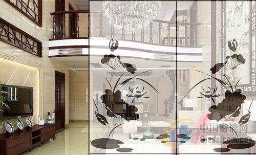 磨花系列图片-玻璃图库-中国玻璃网