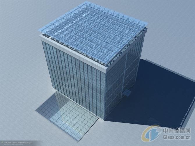 玻璃建筑2