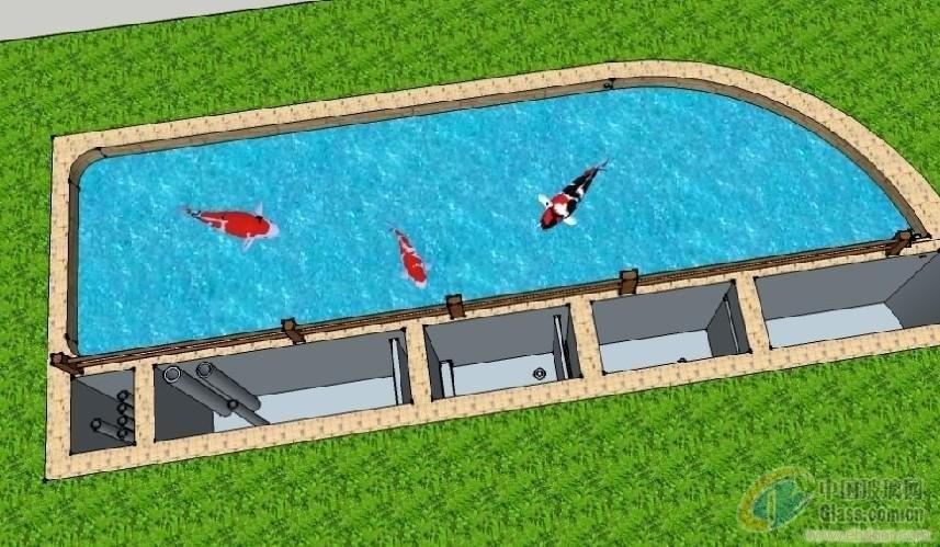 海鲜鱼缸排水设计图展示