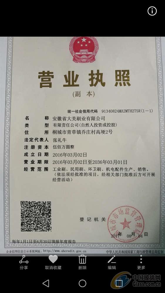 安徽省大美刷业有限公司