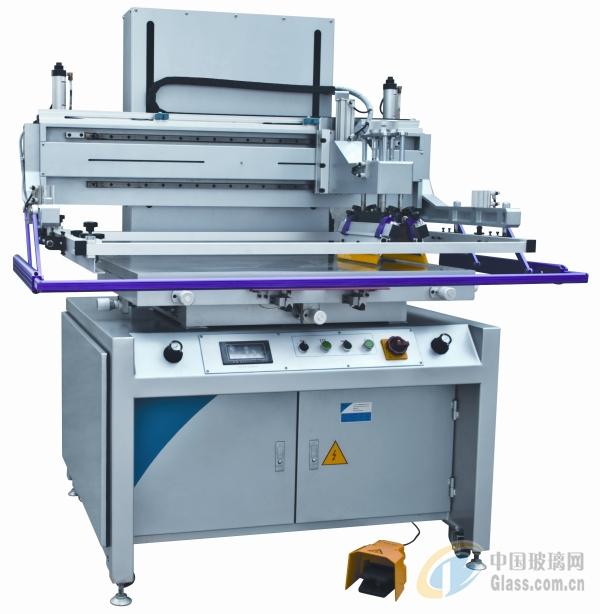 玻璃生产设备 > yl-w8012电路板丝印机  性能特点: •双刮刀双向