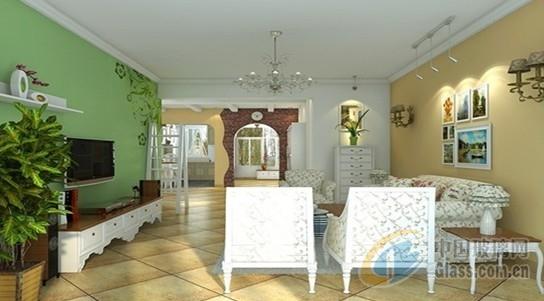 住房客厅墙砖效果图