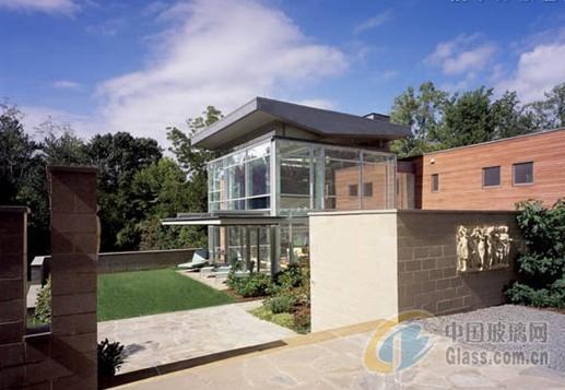 美國玻璃透明別墅 loft動感時尚設計-玻璃資訊-中國