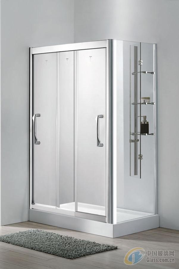 淋浴房品牌 登宇洁具产品型号:dk823l-iv尺寸:1200*800*1950高清图片